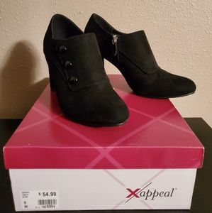 NEW Black Booties - size 8